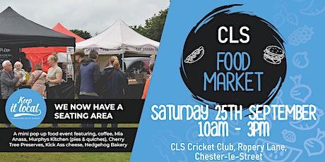 CLS  Food & Craft Market - September tickets