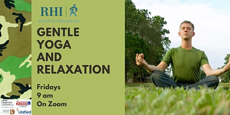 Gentle Yoga and Relaxation billets