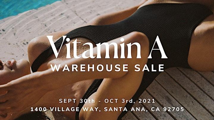 Vitamin A Warehouse Sale - Santa Ana, CA image