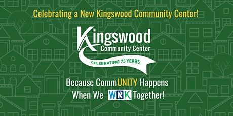 Kingswood Community Center: Ground Blessing tickets