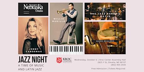 UNO Jazz Night: A Time of Music & Latin Jazz tickets