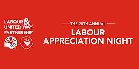 Labour Appreciation Night - In-Person and Virtual Event tickets