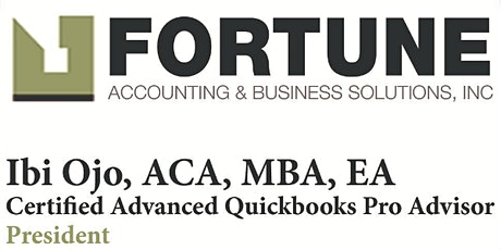 QUICKBOOKS ONLINE TRAINING  - October 19th and 20th, 2021 tickets