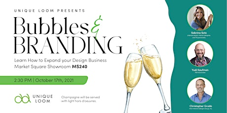 Bubbles & Branding: Learn How to Expand your Design Business tickets