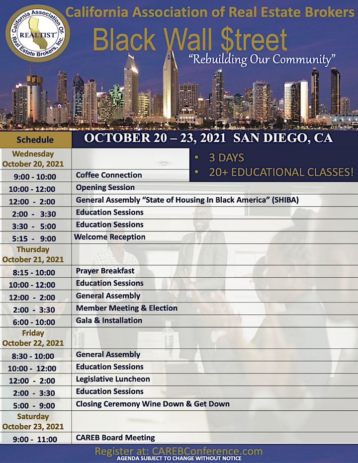 CAREB  66TH Annual Conference image