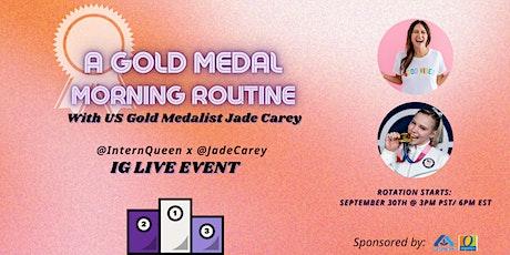 IG Live with Lauren Berger & Olympian Jade Carey! PRESENTED BY: Albertsons tickets