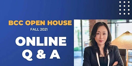 BCC Open House for On-Site Location on Zoom! tickets