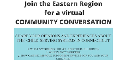 Community Conversation for Eastern  Foster/Adoptive Fathers tickets