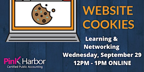 Website Cookies - Learning & Networking Event tickets