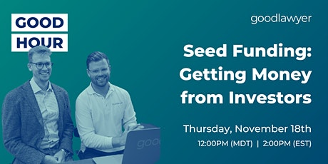 Seed Funding: Getting Money from Investors tickets