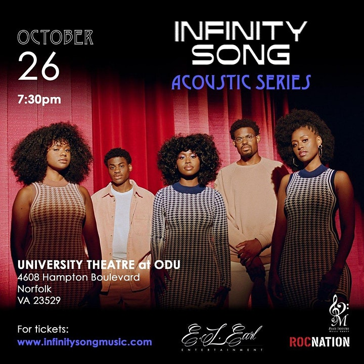 Infinity Song: The Acoustic Series- 10/26 Norfolk, VA image