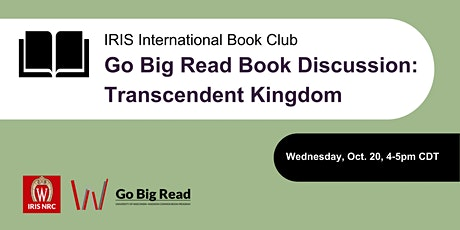 Go Big Read Book Discussion: Transcendent Kingdom tickets