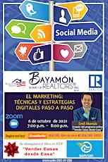 """El Marketing: """"Técnicas y Estrategias Digitales Paso a Paso"""" entradas"""