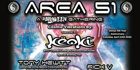 Area 51 -  A  Halloween Gathering tickets
