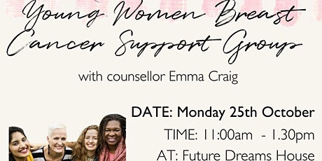 Young Women's Support Group, facilitated by Counsellor Emma Craig tickets