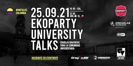 Ekoparty University Talks  Colombia 2021 entradas