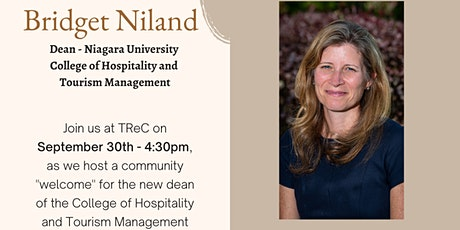 Welcome - Bridget Niland - College of Hospitality & Tourism Management tickets