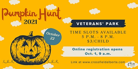 Crossfield Pumpkin Hunt 2021 tickets