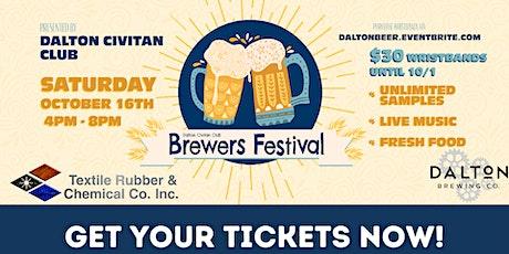 2021 Dalton Civitan Brewers Festival tickets