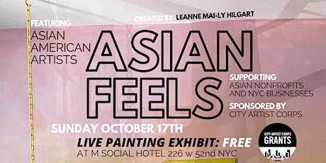 ASIAN FEELS: A LIVE Painting Art Meditation ft. Asian American Artists tickets
