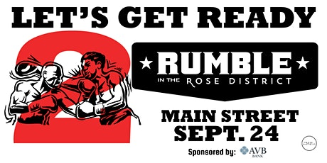 Rumble in the Rose District tickets