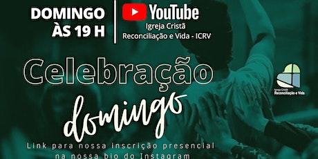 CELEBRAÇÃO DE DOMINGO 26/09/2021 ingressos