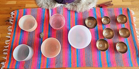 Vinyasa and Vibrations with Essential Oils- Yoga + Sound Bath + Oils tickets