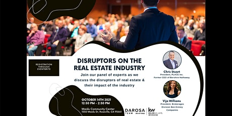 Disruptors on the Real Estate Industry tickets