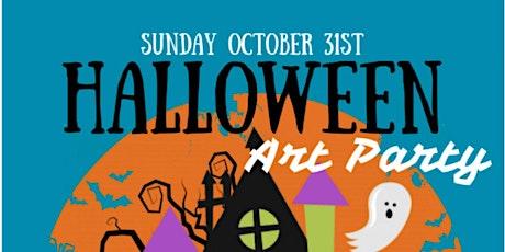 Kids Halloween Paint Party tickets