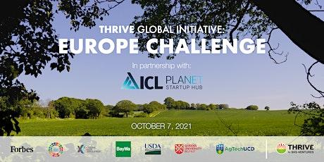 THRIVE EUROPE CHALLENGE tickets