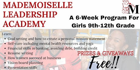 The Mademoiselle Leadership Academy for High School Girls tickets