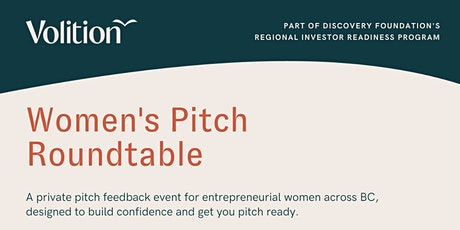 Women's Pitch Roundtable tickets