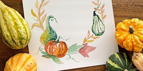 Introduction to Floral Watercolor Workshop with Lauren Ellzey Adams tickets
