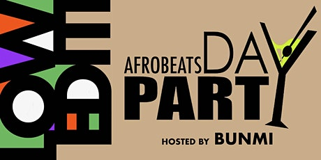 AfroBeat Sundays Day Party | Halloween Edition tickets