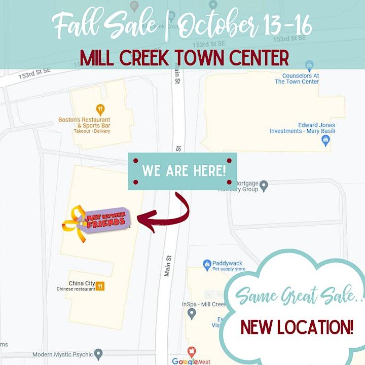 JBF Pop Up Consignment Sale | Lynnwood/Mill Creek Fall Sale 2021 image