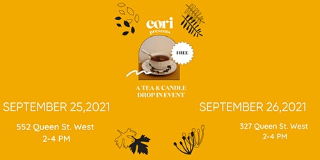 Tea & Candle Drop-In Event tickets