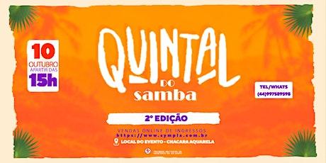 Quintal do Samba ingressos