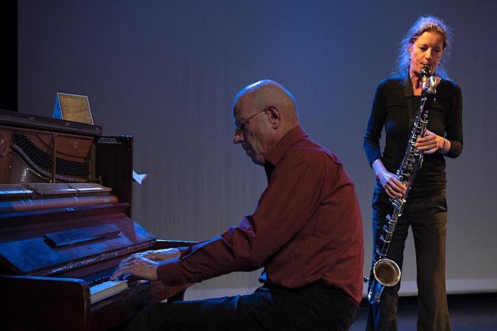 Vincent Courtois, cello | Fie Schouten, basklarinet |Guus Janssen, piano image