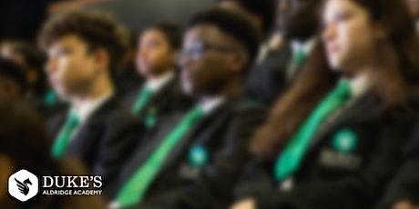 Duke's Aldridge Academy - Open Days 2021 tickets