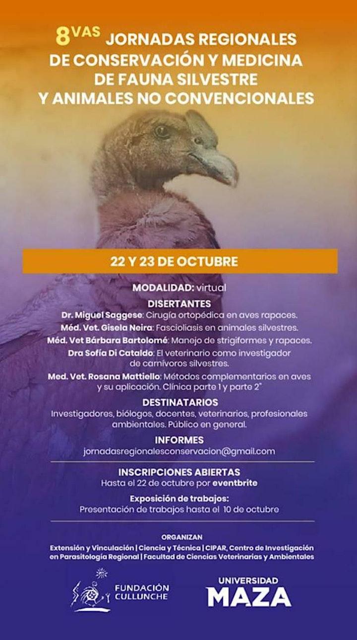 Imagen de 8ºJorn. de Conservac. y Medicina: Fauna Silvestre y Animales No Convencion.