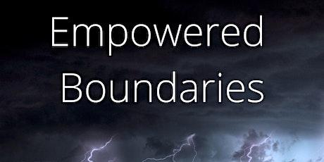 Empowered Boundaries Masterclass tickets