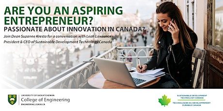 Join the conversation about innovation in Canada tickets