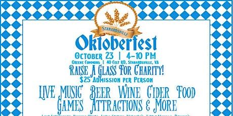 Stanardsville Oktoberfest tickets