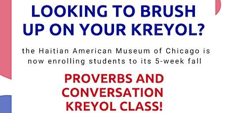 Kreyol Proverb and Conversation Class tickets