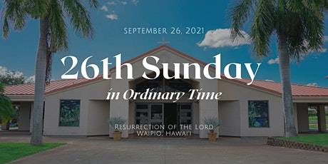 26th Sunday in Ordinary Time (6:00 PM) tickets