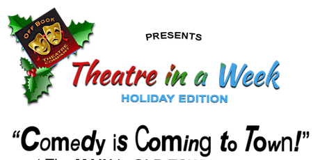 THEATRE IN A WEEK is back with six original one-act comedies, written by Ba tickets