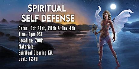 Spiritual Self Defense Class tickets