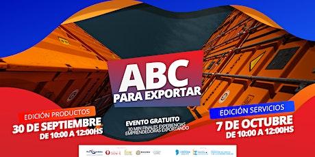 ABC para exportar entradas