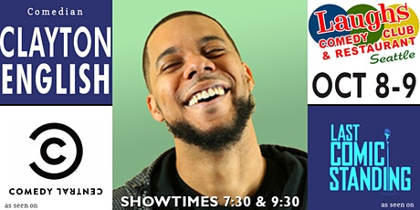 Comedian Clayton English tickets