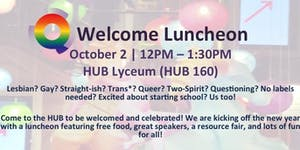 Q Center Welcome Luncheon